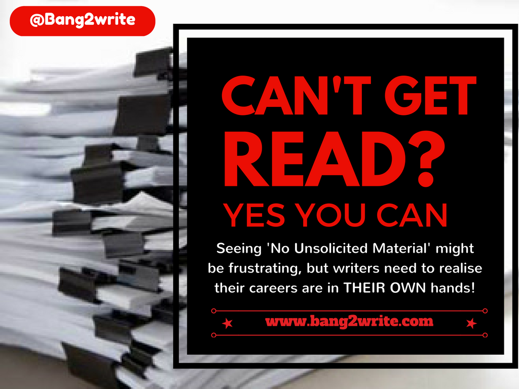 Can't get read? Yes You Can!