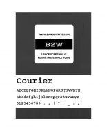 B2W Format Ref Guide