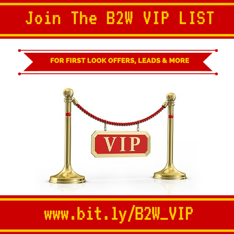 Join my VIP list to get FIRST notification of offers & news