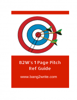 The B2W 1 Page Pitch Guide