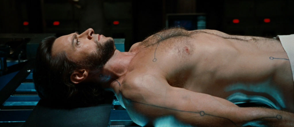 hugh jackman shirtless x-men origins wolverine