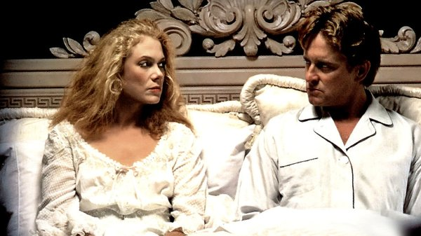 Warren's novel WAR OF THE ROSES was adapted into a movie starring Michael Douglas & Kathleen Turner