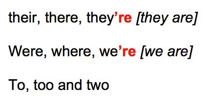 13.mistaken words