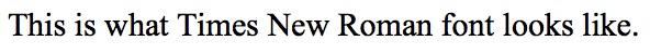 2. TNR font