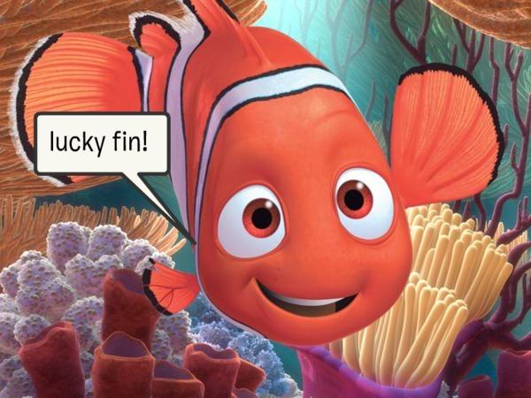 lucky fin