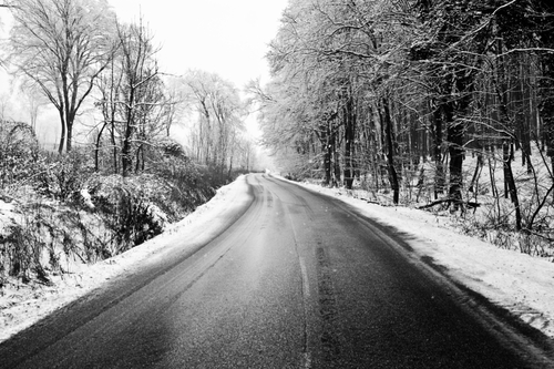 Black-Icy-road-1