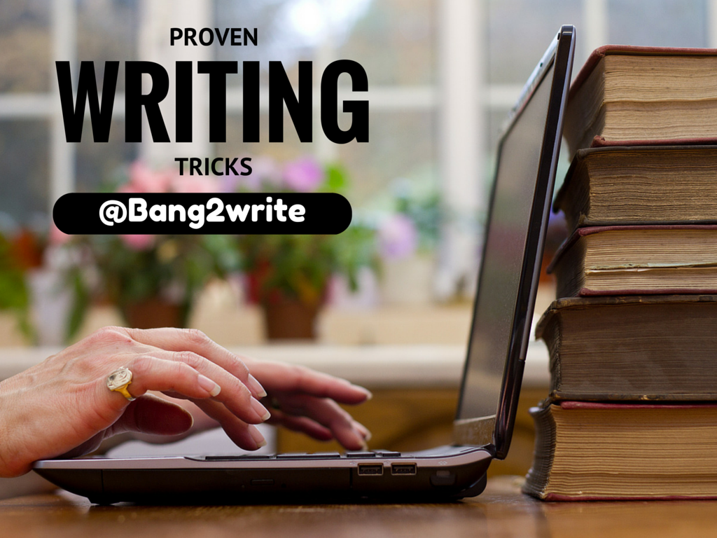 14 Proven Writing Tricks From Genius Writers by @AlyceFabel