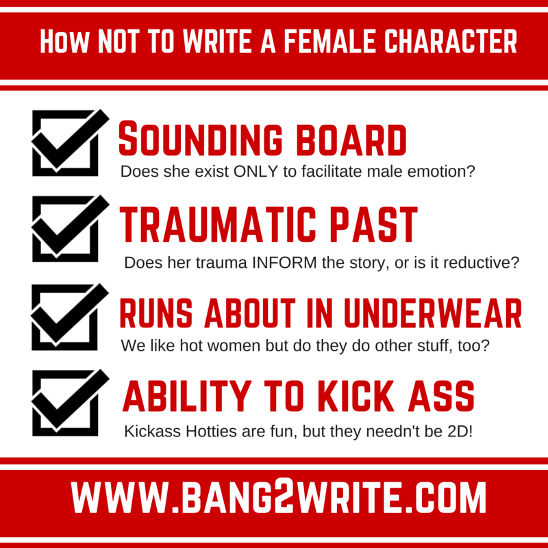 Top 5 Female Character Mistakes Writers Make - Bang2write