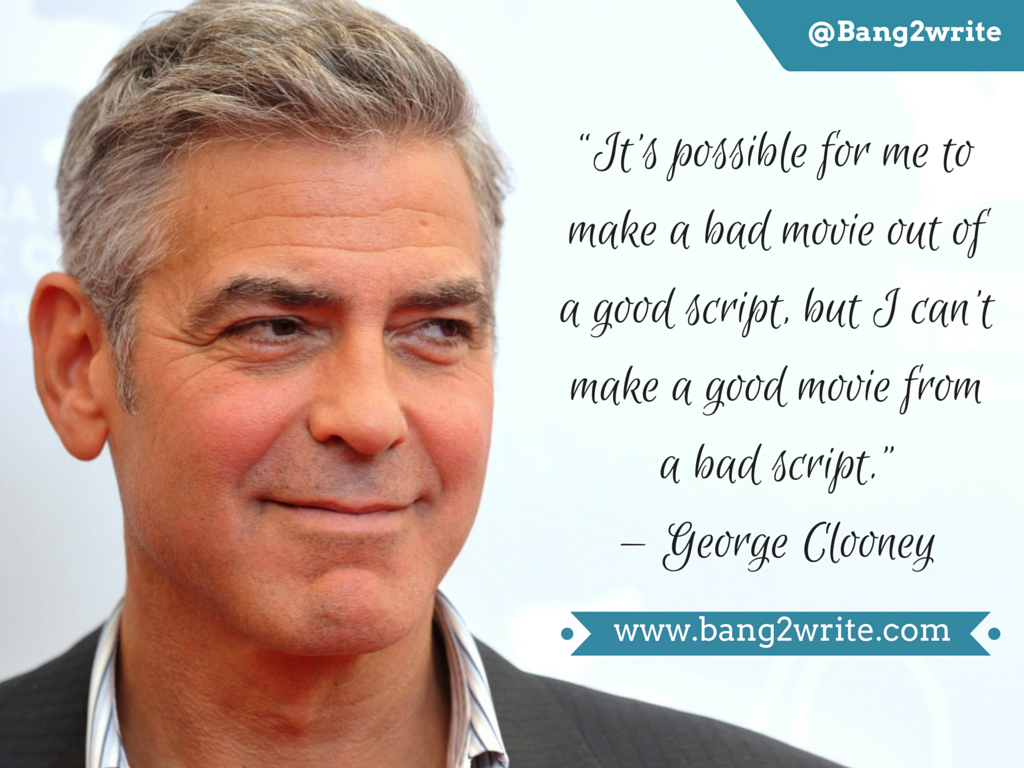George Clooney_B2W quote