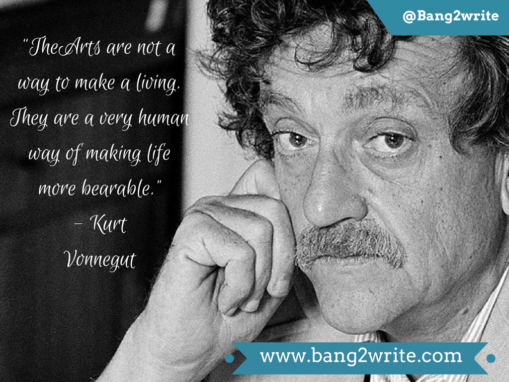 Kurt Vinnegut quote_B2W