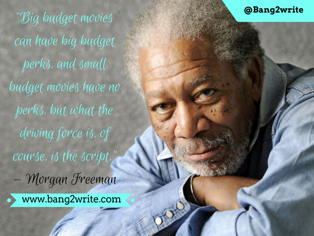 Morgan Freeman_B2W quote