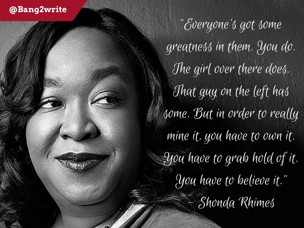 Shonda Rhimes quote 2