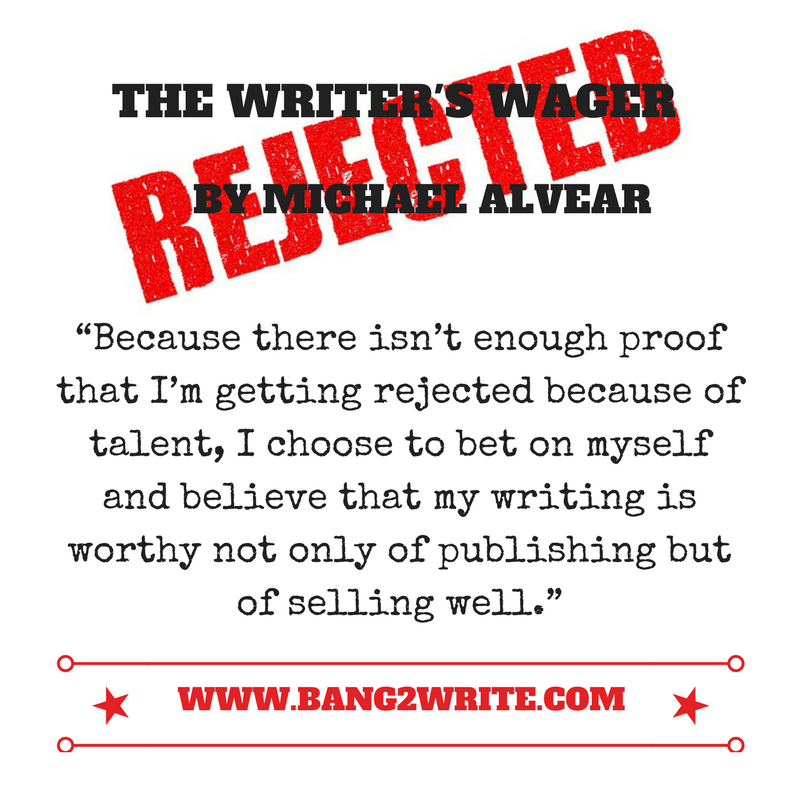 THE WRITER'S WAGER