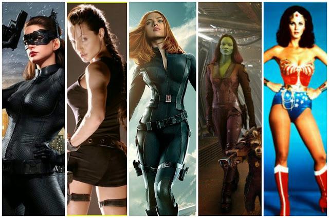 Superhero women]