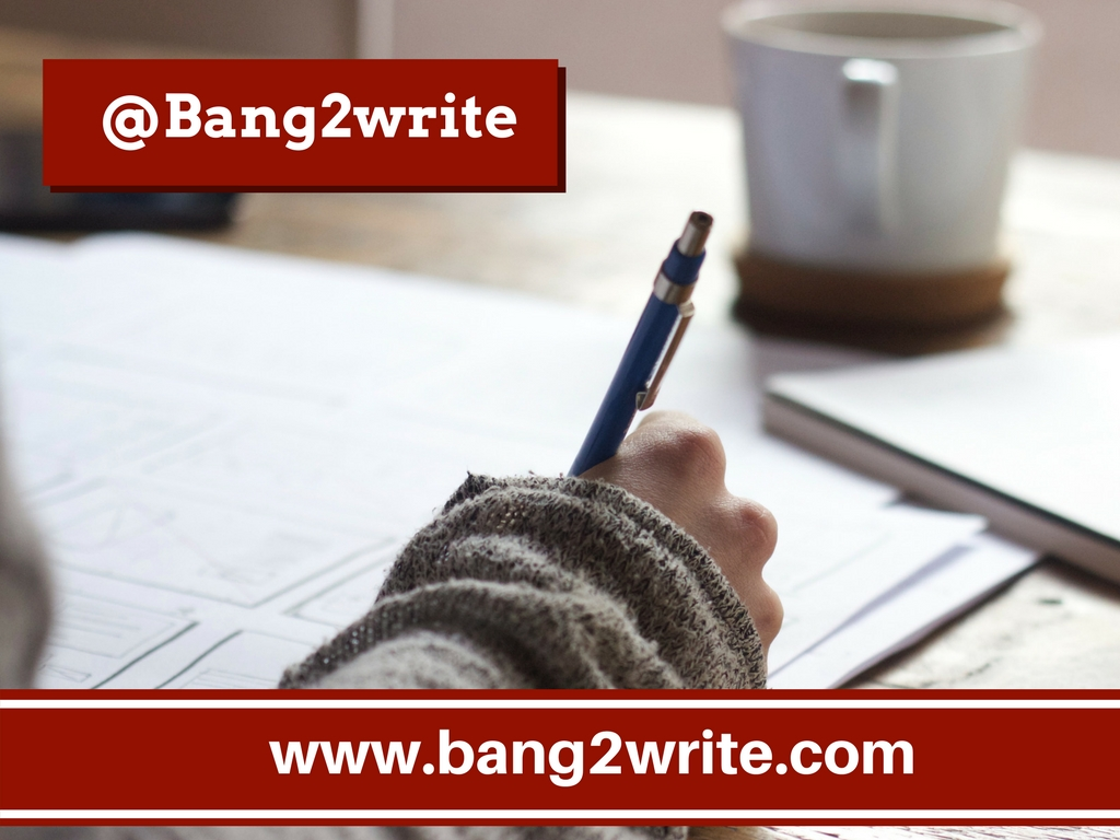 Bang2Write - Page 23 of 179 - Networking and writing craft