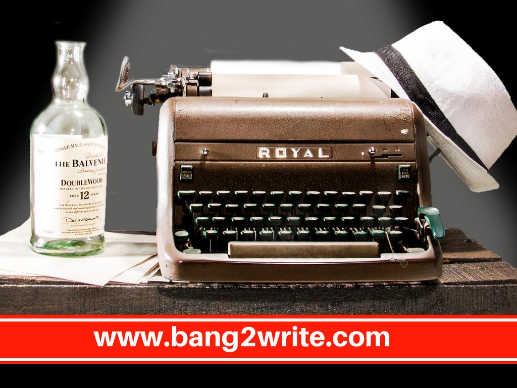 Typewriter, hate & liquor_B2W